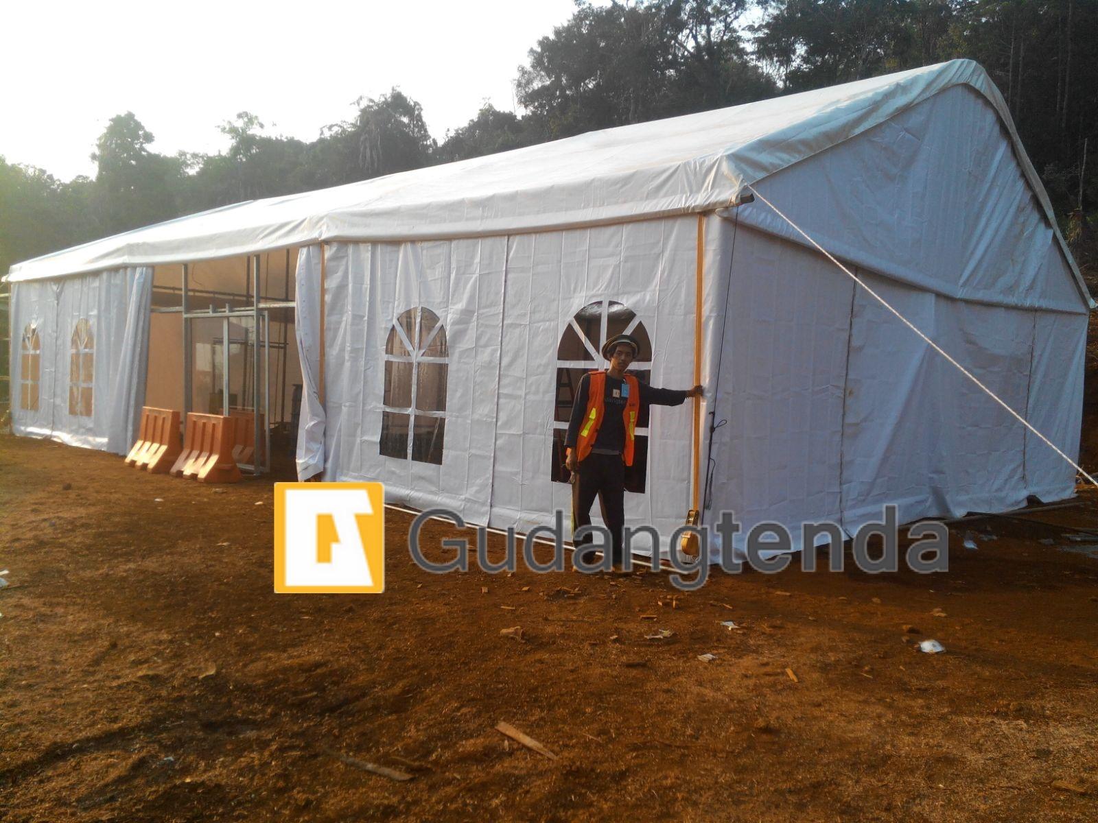 tenda gudang standar pertambangan