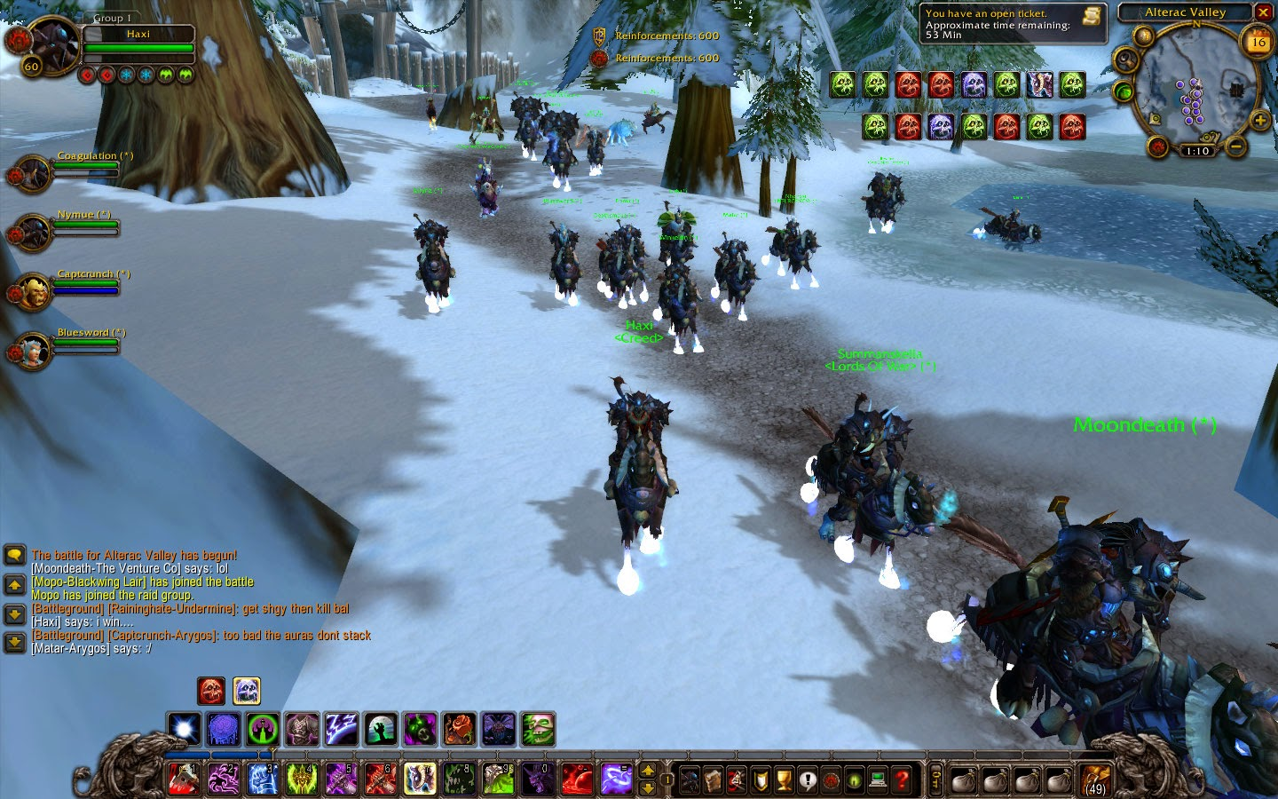World of Warcraft Screenshot DK