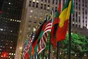 Malaysian Flag at Rockefeller Plaza, NYC
