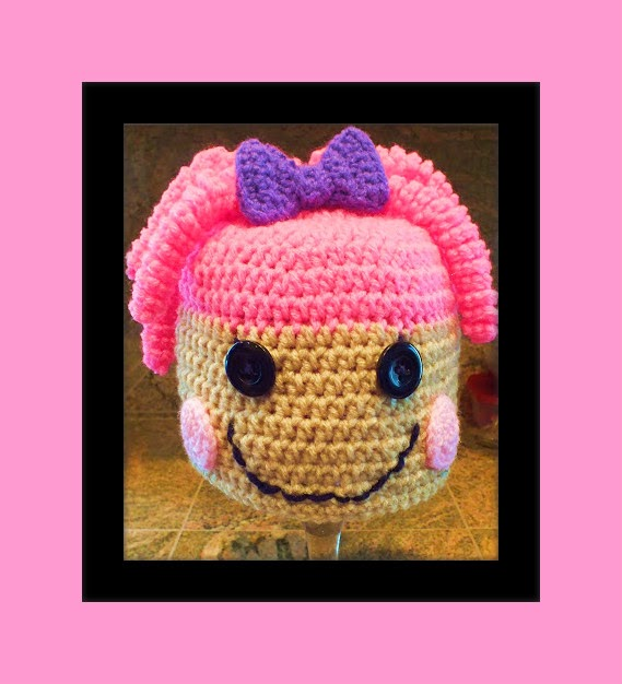 Free Crochet Pattern For Lalaloopsy Hat : Connies Spot? Crocheting, Crafting, Creating!: Free ...