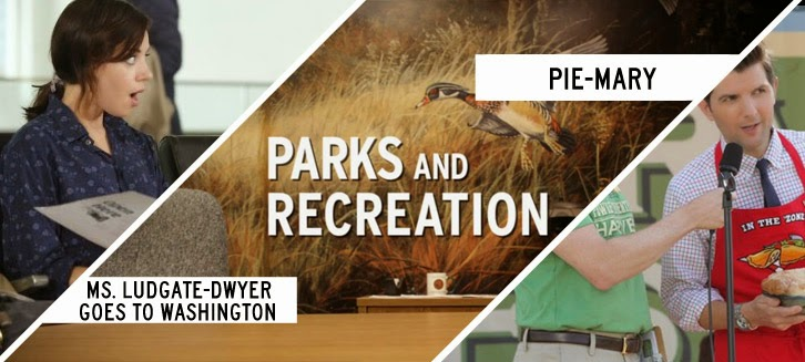 Parks and Recreation - Ms. Ludgate-Dwyer Goes to Washington & Pie-Mary - Review