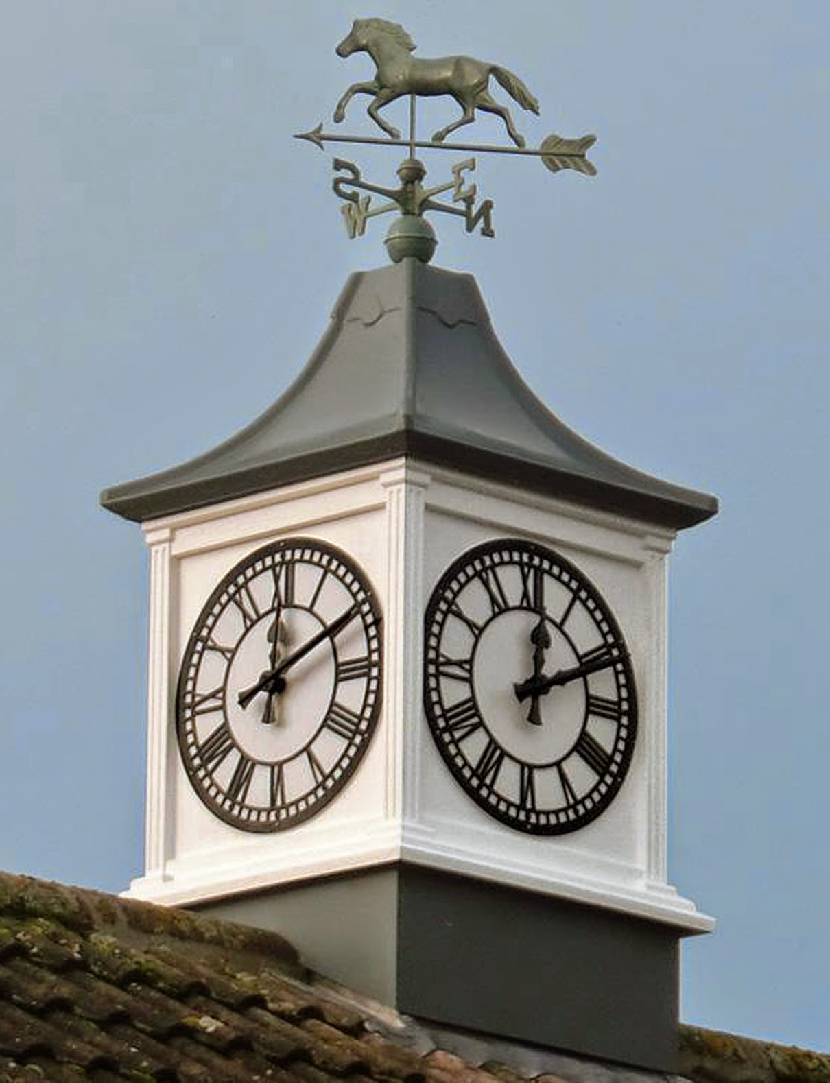 Willowbrook park cupolas clock towers and turrets for Cupola on house