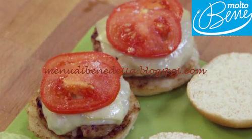 Hamburger al bacon ricetta Parodi per Molto Bene