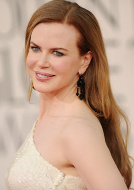 Nicole Kidman Dangle Decorative Earrings