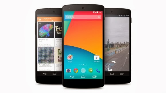 Google announces the Nexus 5 with Android 4.4 KitKat, on sale today for $349_NewVijay