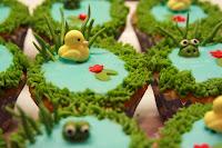 Duckpond cupcakes