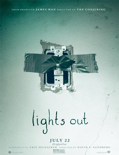 Ver Cuando las luces se apagan (Lights Out) (2016) Online