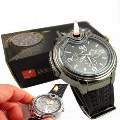 jam tangan korek api lighter watch
