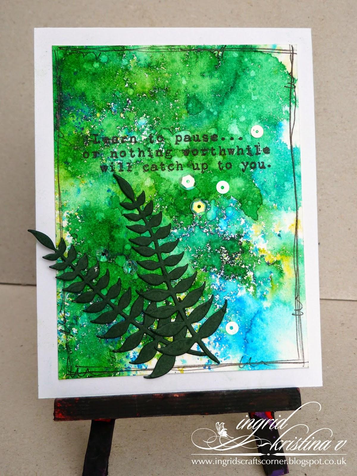 http://ingridscraftscorner.blogspot.co.uk/2014/09/speed-craft-challenge-2-colour-themed.html
