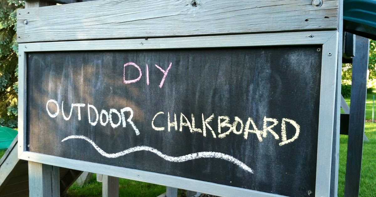 Eleanor Olander This Is Me DIY Outdoor Chalkboard Fascinating Chalkboard Paint Backsplash Exterior