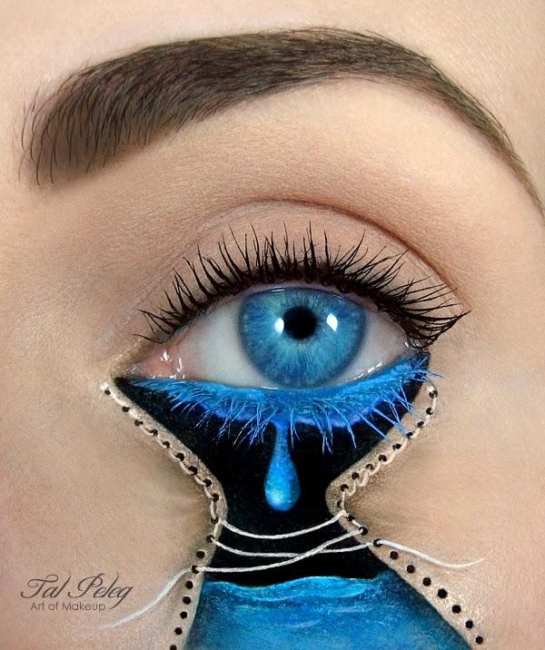 Eye-Makeup Illustrations by Tal Peleg 5