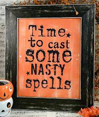 Nasty spells...digital sign
