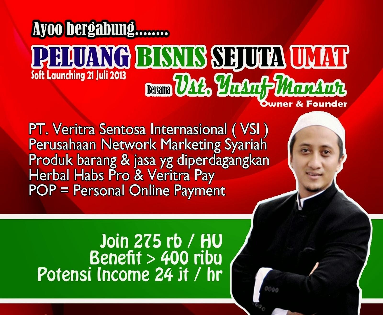Informasi Bisnis Ust. Yusuf Mansur