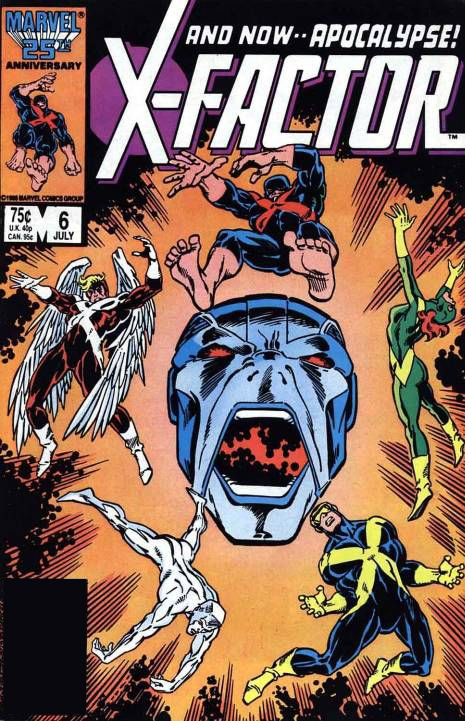 apocalypse reading order part 1 rise of the first mutant 1986