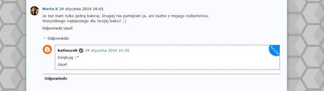 blog komentarze