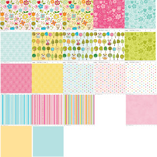 Riley Blake Designs SUNNY HAPPY SKIE Quilt Fabric by Bella Blvd