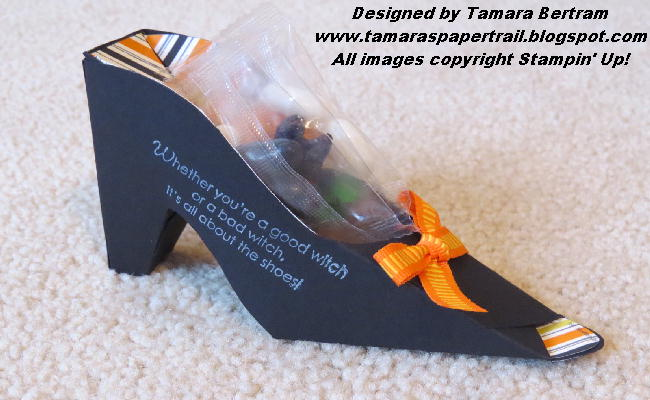 Tamaras paper trail witches shoe tutorial ok today is the day rather than doing my prep for this week i spent some time working on a tutorial to make the cutest stinkin halloween favour ever maxwellsz