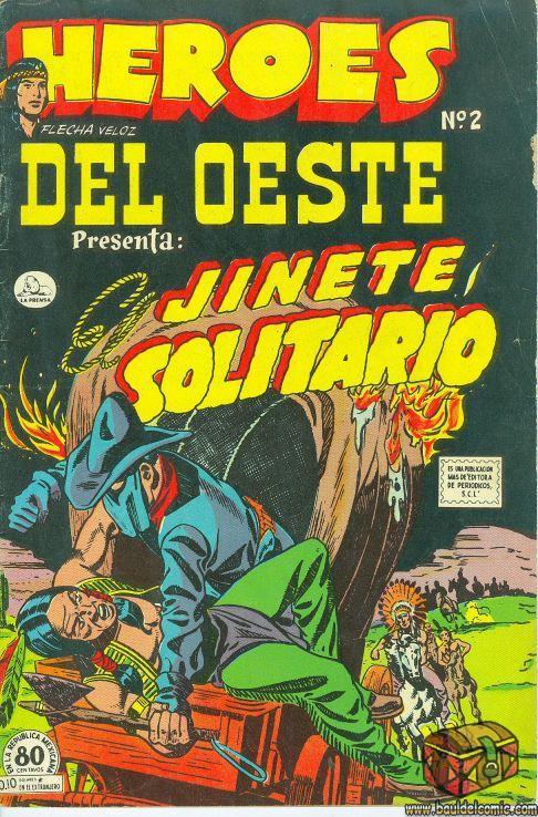 HEROES DEL OESTE Nº 002