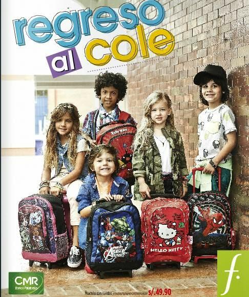 catalogo saga falabella utiles escolares feb 2014