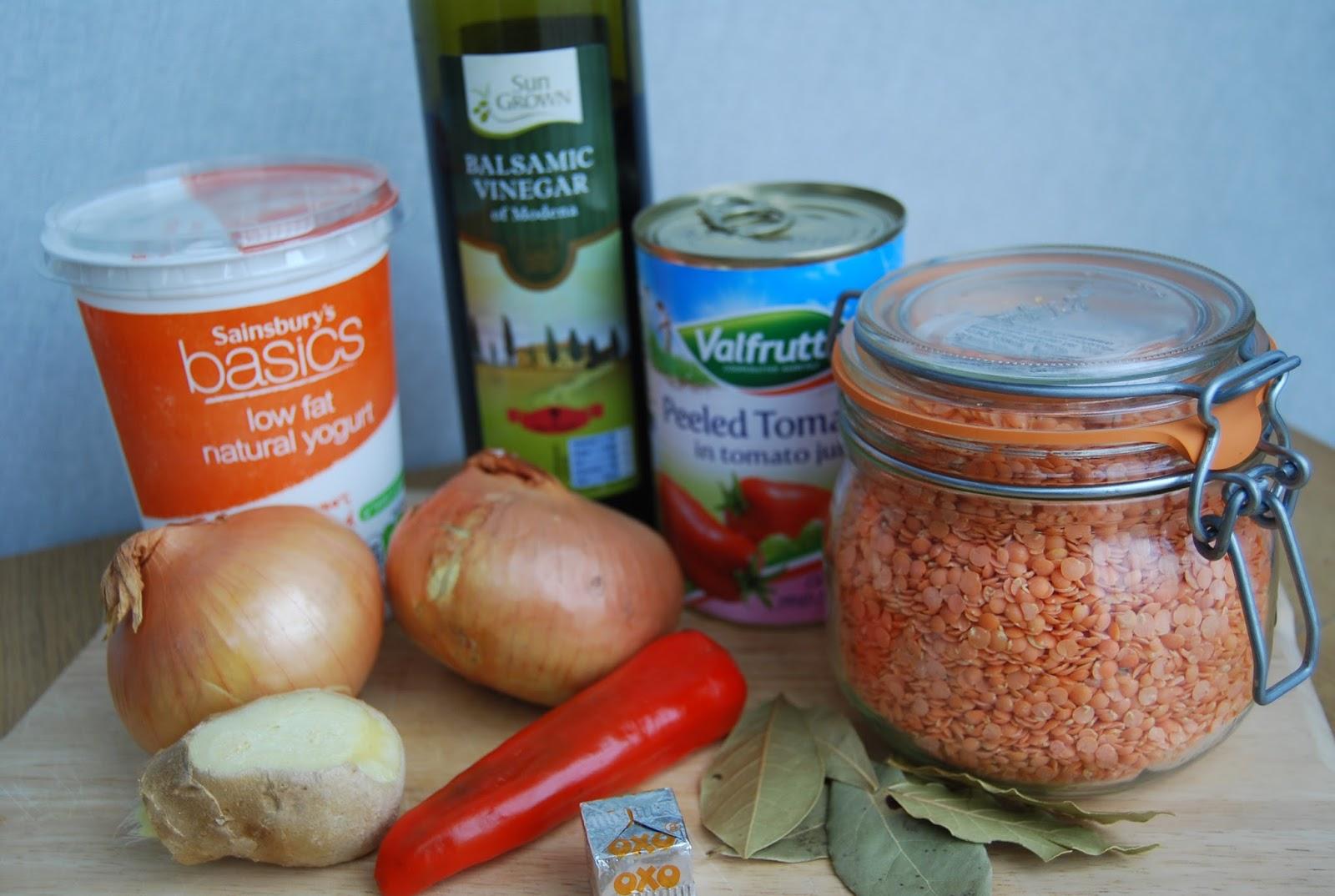 Curry night 07 jamie oliver rogan josh recipe 12 a jar of pataks rogan josh curry paste or jamies recipe see below 2 handfuls red lentils 200g natural yoghurt forumfinder Gallery