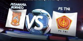 PS TNI Bekuk Pusamania Borneo FC 6-5 (2-2)