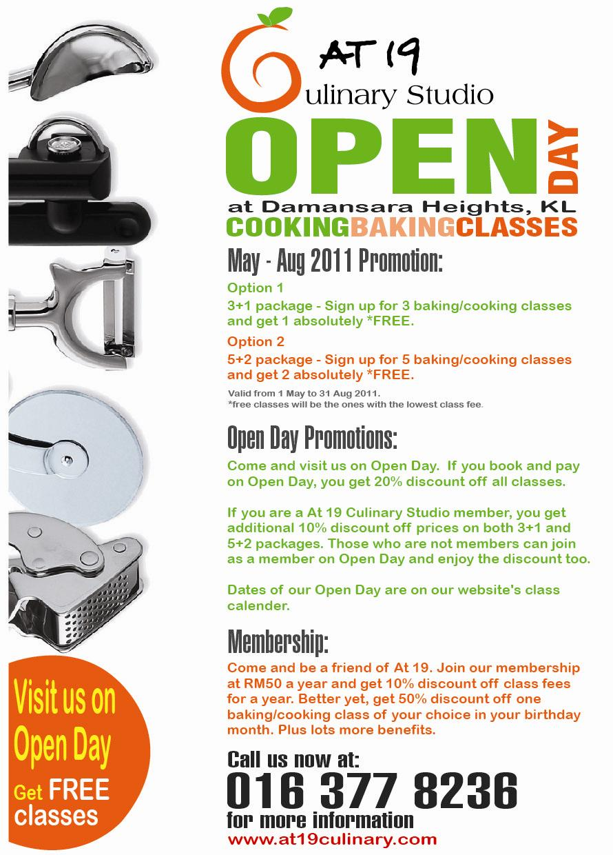 Displaying 20> Images For - Cooking Class Flyer...