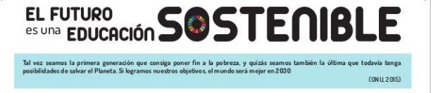 Calendario 2019/2020 sobre ODS