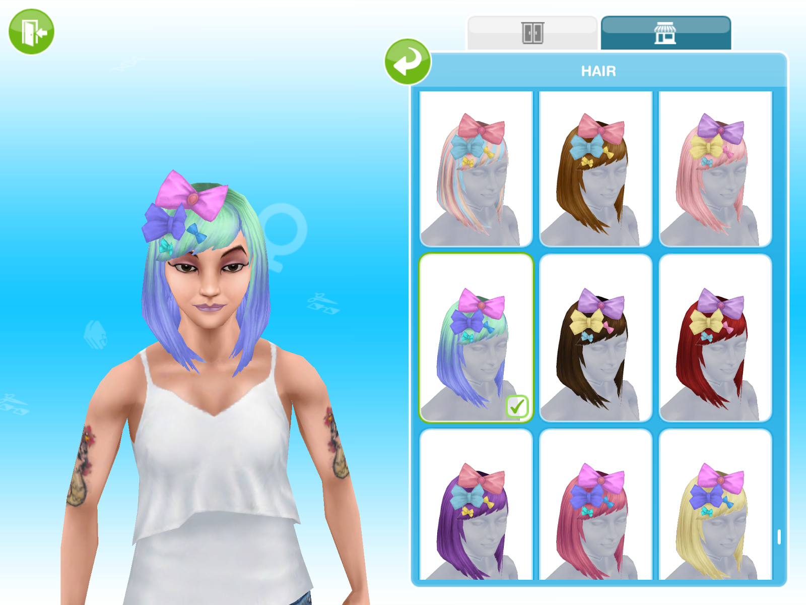 Missy's Sims and Stuff: The Sims Freeplay ~ Boutique Hair Event Quest Walkthrough + Tips