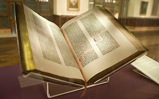 The Gutenberg Bible - the first book ever printed!