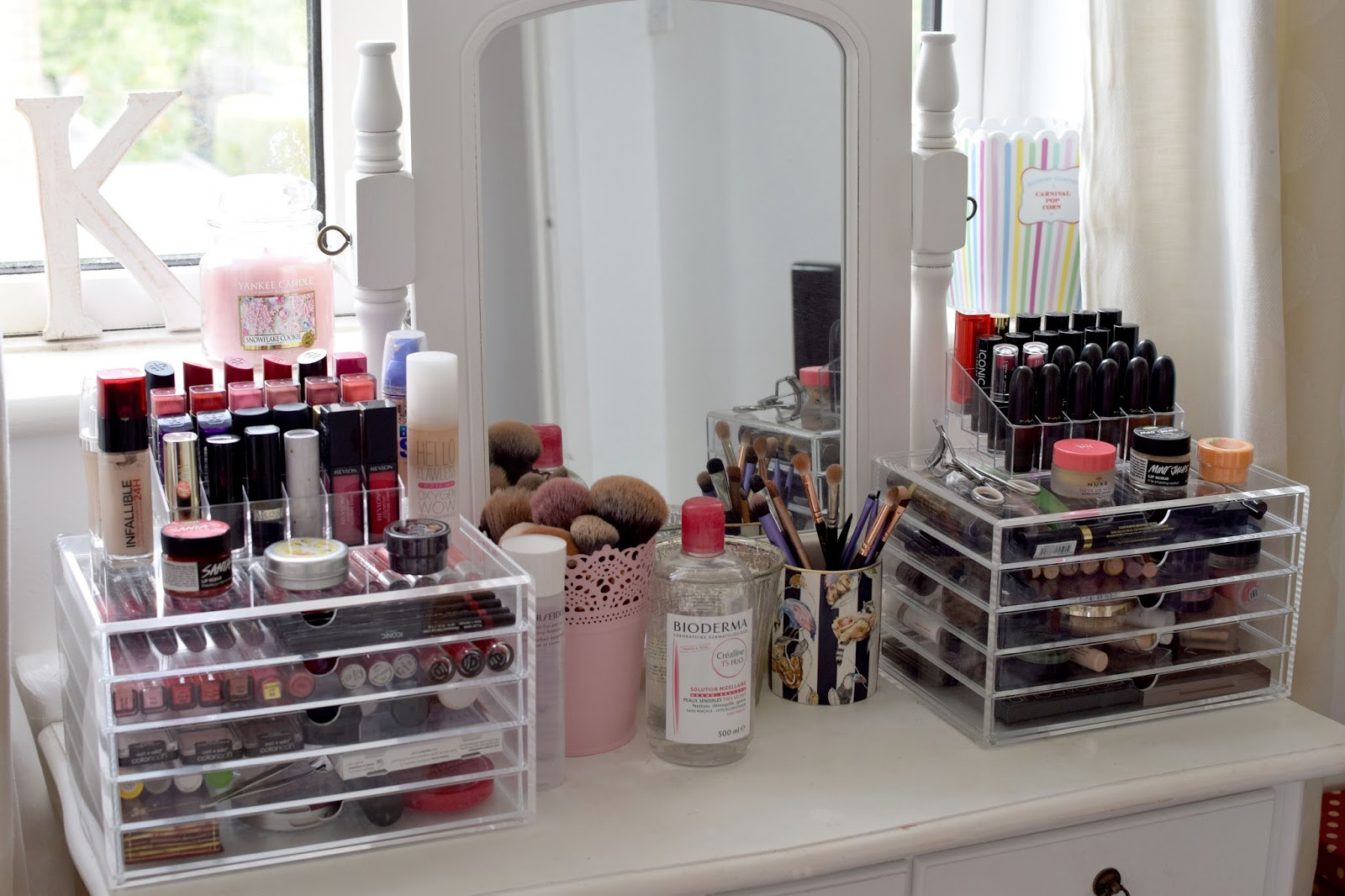 Makeup Collection Amp Storage September 2015 Blonde Ambition