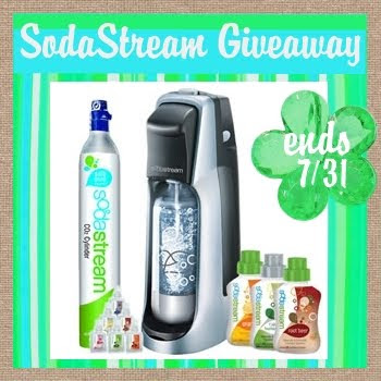 sodastream giveaway, win carbonator, soda starter kit