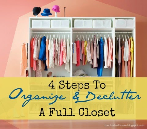 Great and Simple ideas to keep in mind to not let clothes clutter take over your closet! Head over their quickly to change your closet forever!