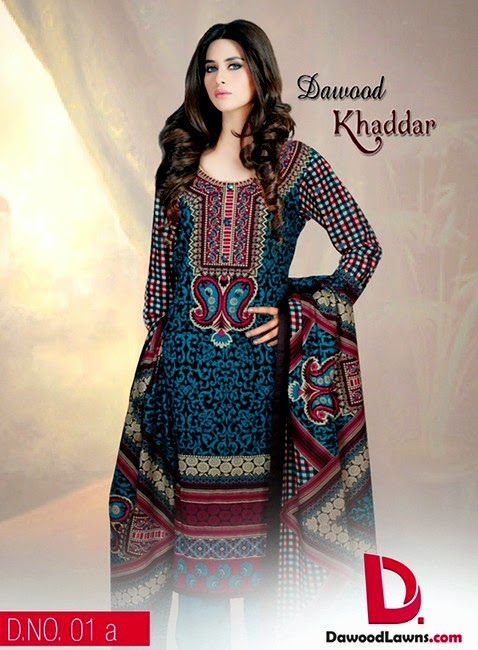 Dawood Khaddar Winter/ Fall Collection 2014