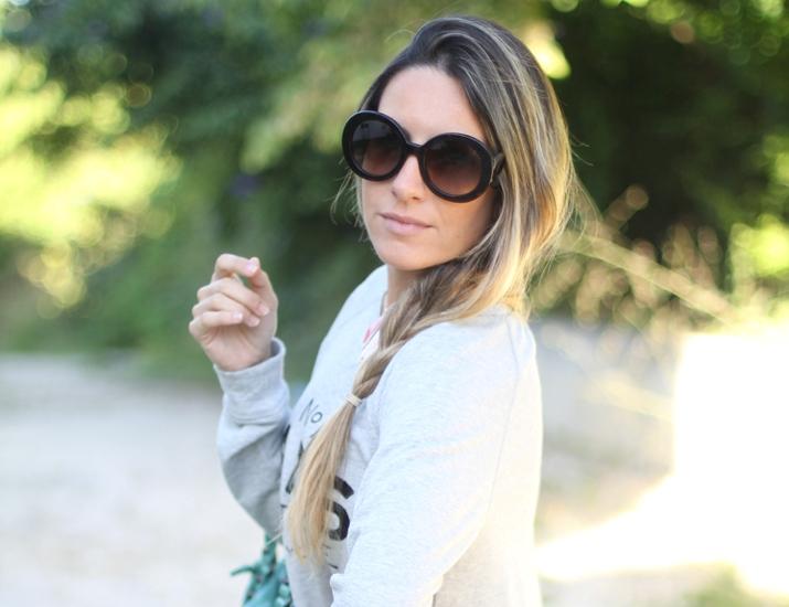 Prada Baroque sunglasses by fashion blogger Mónica Sors