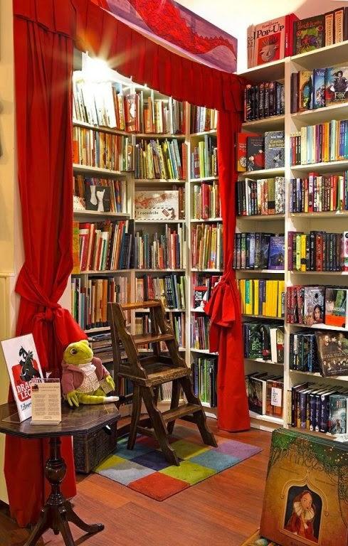 Bibliotecas para niños Madrid - El Dragón Lector