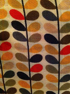 Orla Kiely scarf with multistem print from Uniqlo