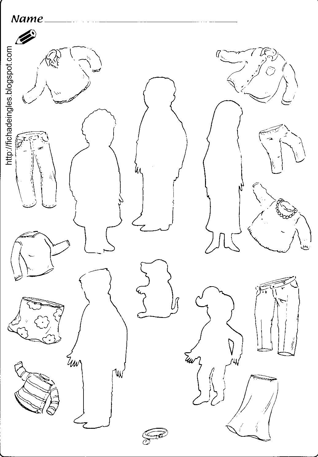 la familia worksheet pdf new calendar template site. Black Bedroom Furniture Sets. Home Design Ideas
