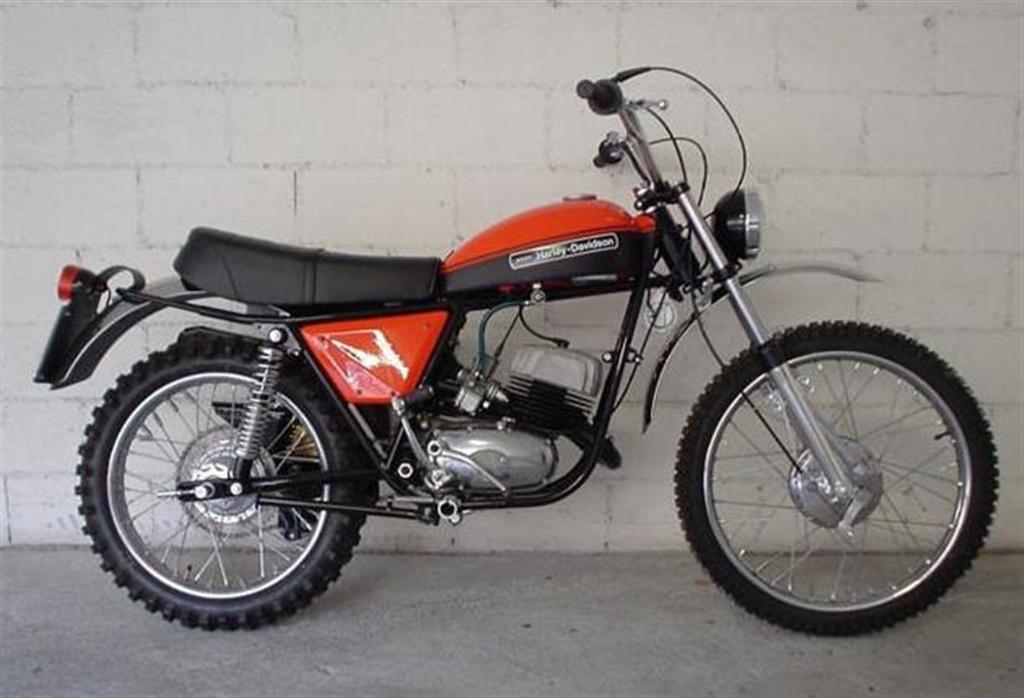 125 R/C AMF-Harley Davidson Restoration