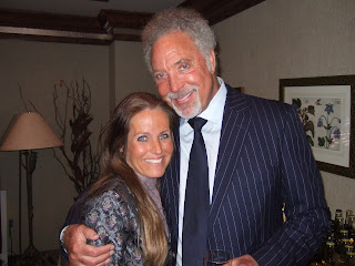 Charlotte Laws and Sir Tom Jones in 2010