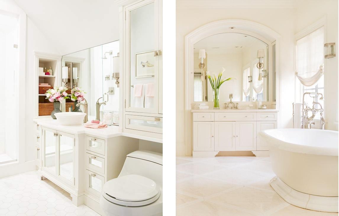 decoracao banheiro todo branco – Doitricom -> Banheiro Pequeno Todo Branco