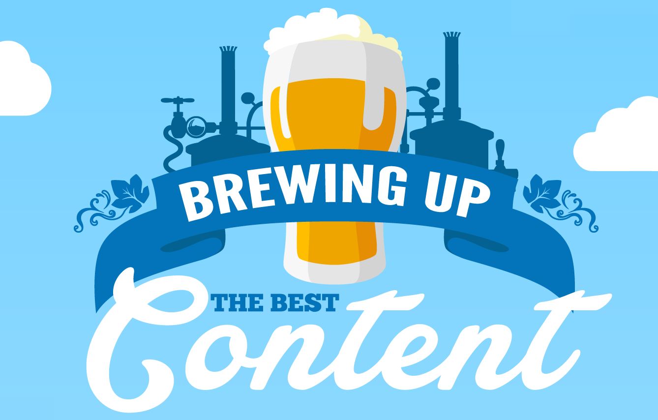 Get Your Content Brewery Up and Running - #infographic