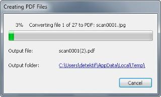 Tutorial Membuat File JPEG Menjadi PDF