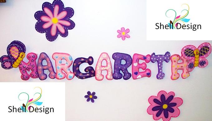 Letras decorativas para ni os y beb s - Letras decorativas para ninos ...