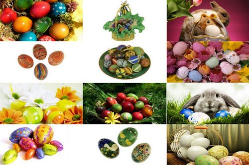 12 wallpapers de huevos de pascua - Eastern Eggs 2