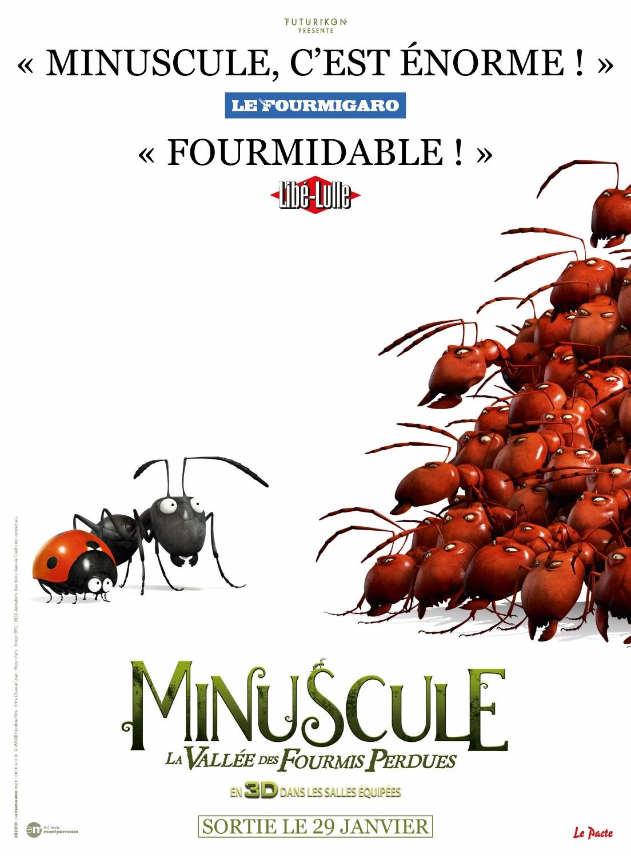 affiche du film Minuscule : La vallée des fourmis perdues