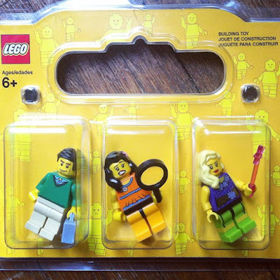 Make Lego minifigures of your family