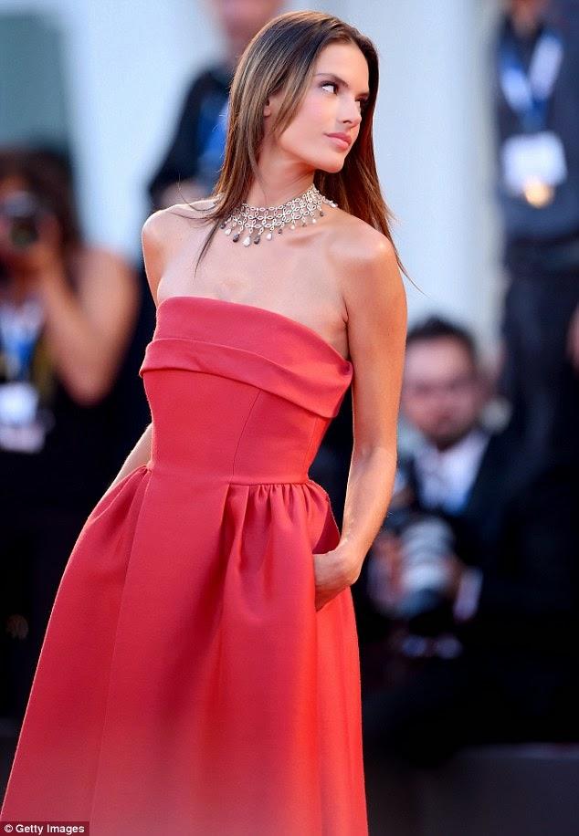 """Alessandra Ambrosio -""""Alberta Ferretti"""" Venice Film Festival"""
