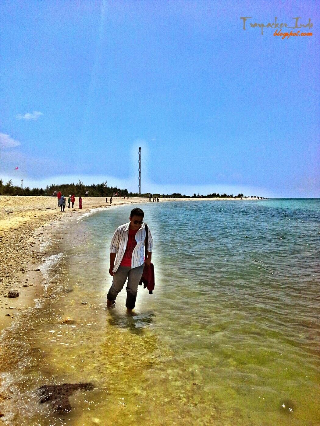 travpacker indo surga tersembunyi pantai pasir putih