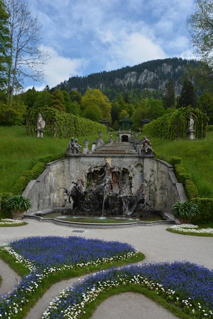 Linderhof Gardens Ettal