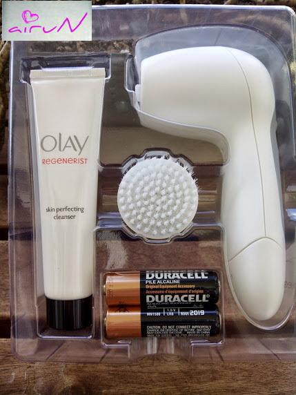 cepillo facial olay pilas exfoliante
